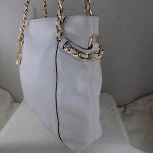3c2ca908891b Michael Kors Bags - Michael Kors Optic White Remy MD Shoulder Tote New